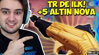 TR DE İLK! ALTIN DESENLİ +5 NOVA İLE OYNADIM!! (Zula Pompalı)
