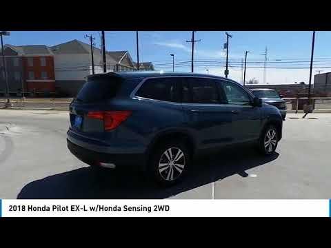 Download 2018 Honda Pilot EX-L w/Honda Sensing 2WD Odessa TX 18H213