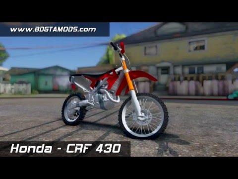 GTA SA - Honda CRF 450 R [DOWNLOAD]