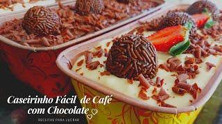 Caseirinho com a Massa de Café Delicioso