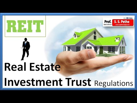 Reit Real Estate Investment Trust Regulations With Amendments