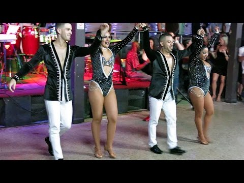 Casa Salsa Pro Team Performs at Hollywood LIVE - Dec 6, 2016