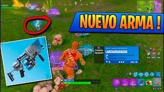 *LANZA BOLAS DE NIEVE* NUEVO ARMA | FORTNITE: Battle Royale