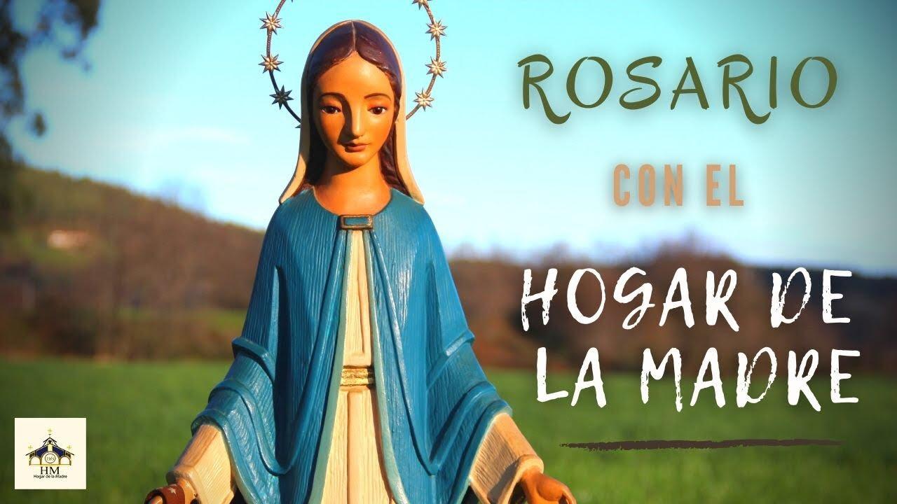 Rosario con el Hogar de la Madre 25 feb