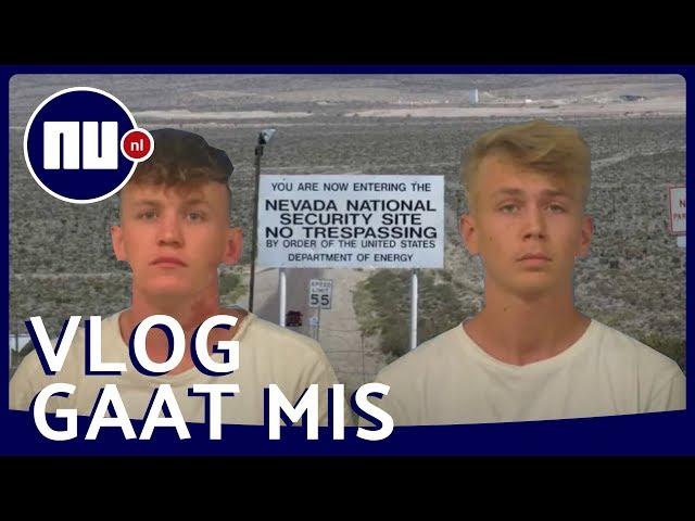 Nederlandse YouTubers opgepakt bij Area 51 | NU.nl