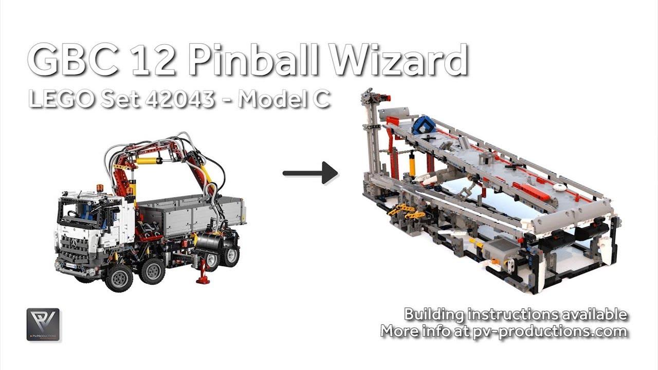 Gbc 12 Pinball Wizard Pdf Building Instructions 42043 C Model