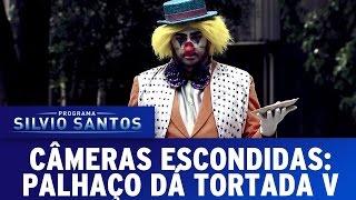 Câmera Escondida (11/12/16) Palhaço Dá Tortada V - CLOWN ATTACK PRANK SBT