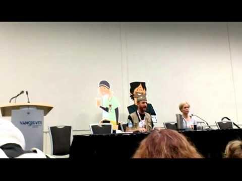 FanExpo Vancouver 2014 @ Vancouver Convention Centre Christian Potenza & Megan Fahlenbock