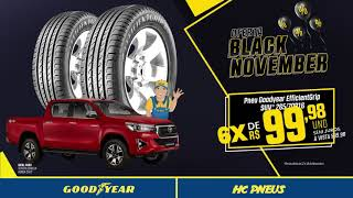 Oferta Black November - Pneu Goodyear EfficientGrip Suv Aro 16