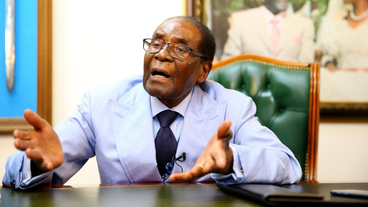 Robert Mugabe lambasts Zimbabwe's new president: 'We must undo this disgrace'