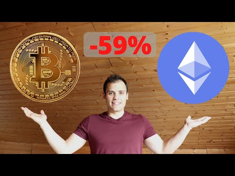 My CRYPTOCURRENCIES PORTFOLIO – I have LOST 59% of my initial investment! (ETH, BTC & more)