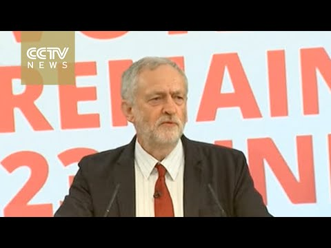 British Labour Party leader: Tories greater threat than EU