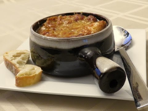 How To Make Homemade French Onion Soup Recipe 2016