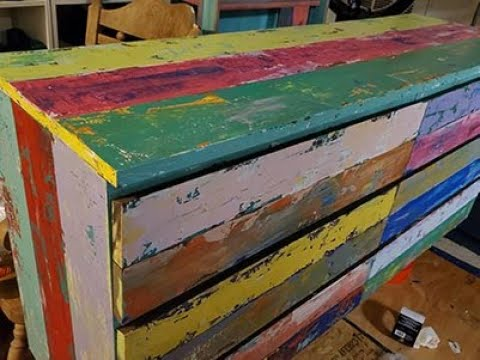 Part 2 DIY Paint Faux Reclaimed Boat Wood - no distressing required