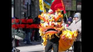 CHINATOWN CHINESE NEW YEAR PARADE DRAGON LION DANCE CHICAGO