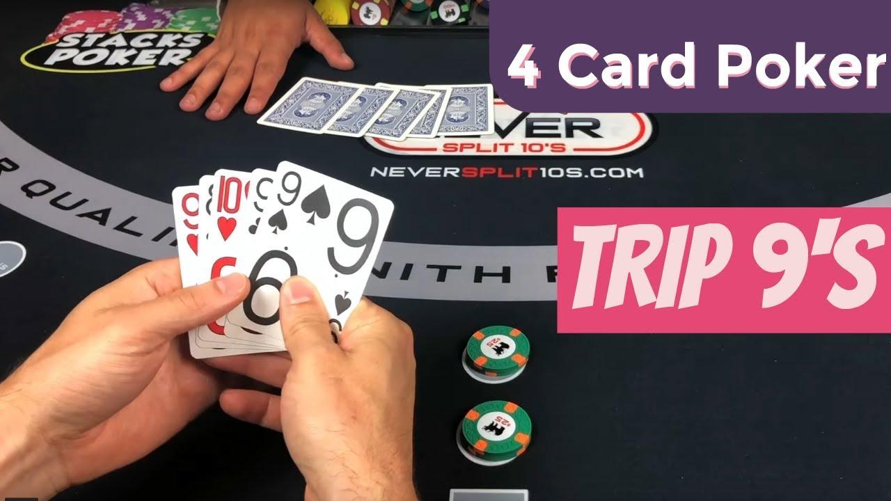 4 card poker betting strategy