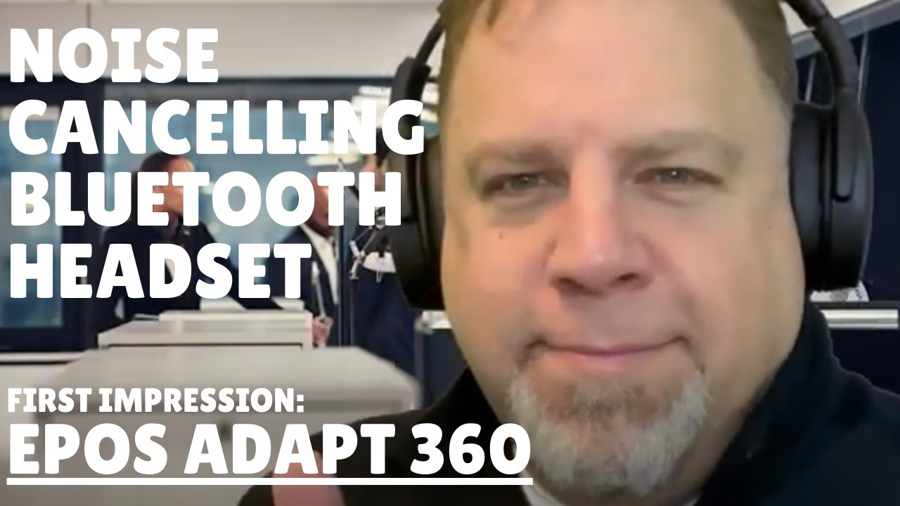 Good alternative to Airpods MAX? First look at EPOS Adapt 360 noise-canceling Bluetooth headphones
