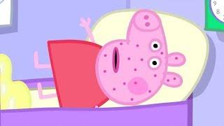 Peppa Pig Italiano   Peppa Pig è malato!   Cartoni Animati