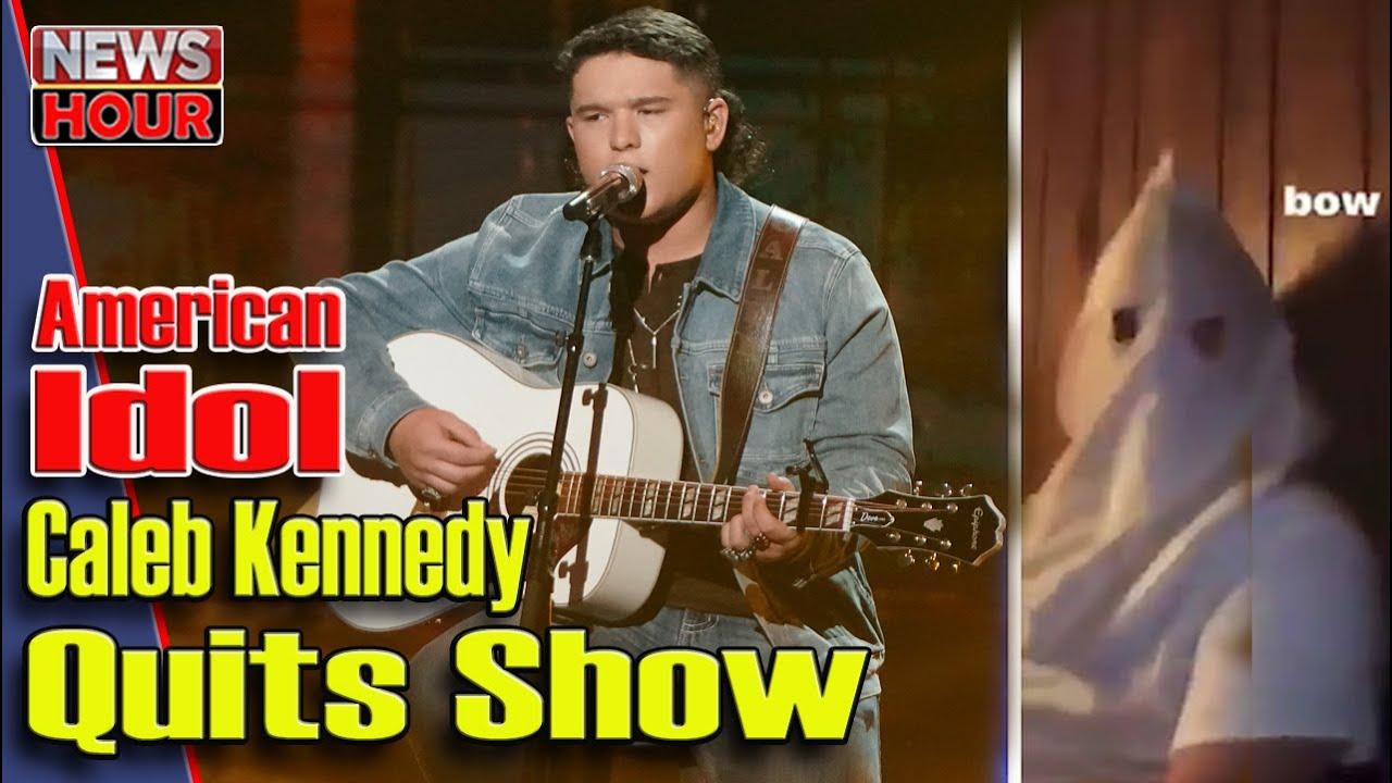 'American Idol' finalist Caleb Kennedy out after KKK-style hood ...