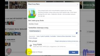Cara Membuat Grup di Facebook - Langkah-langkah Buat Group FB
