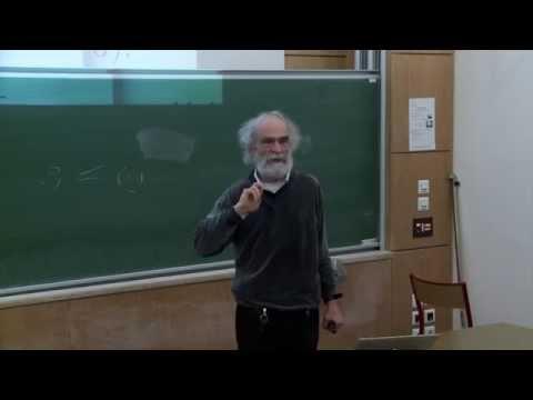 Mikhael Gromov - 1/6 Probability, symmetry, linearity