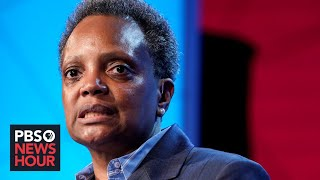Watch Live: Chicago Mayor Lori Lightfoot Holds News Conference