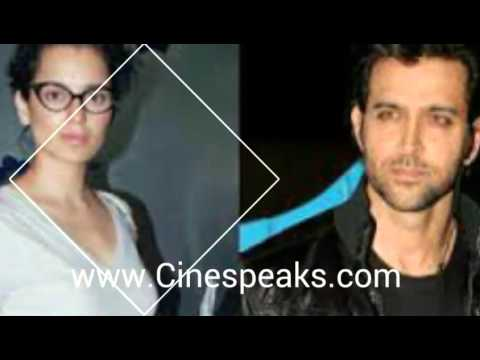 Hrithik and Kangana Ranaut's new picture in their ongoing legal battle.