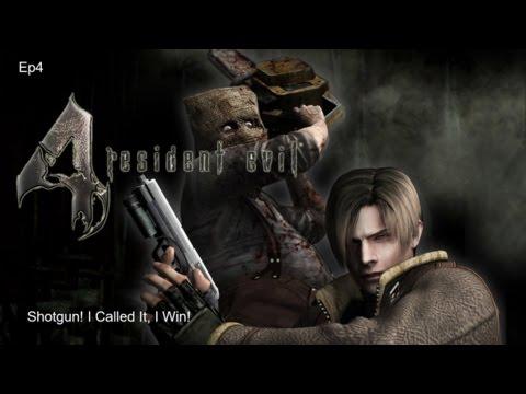 Shotgun! I Called It, I Win! Resident Evil 4 Ep4