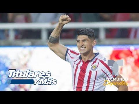Alan Pulido le responde a Carlos Hermosillo   Titulares y Más   Telemundo Deportes