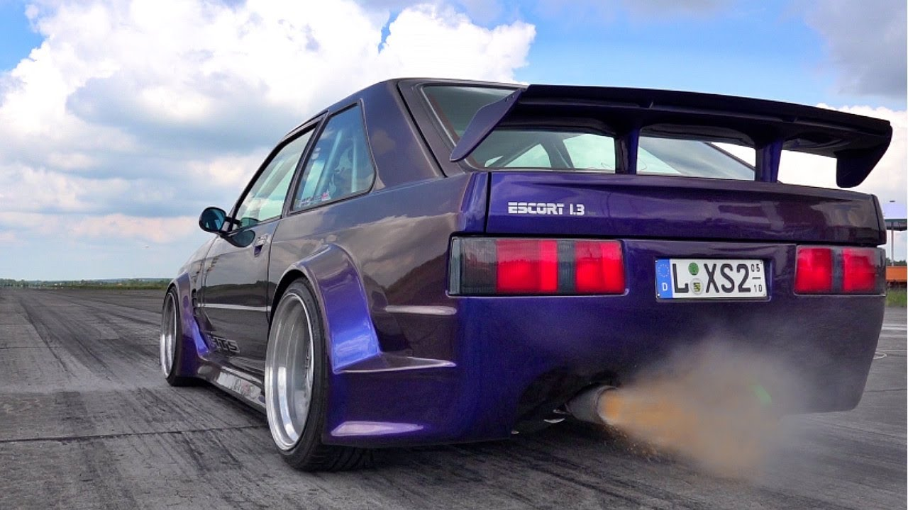 Ford Escort Rs2000 Turbo Acceleration Sound Youtube