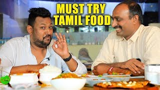 Must Try Tamil Food in Hyderabad | Chicken Kottu Parotha | Ambur Biryani | Chettinad Crab Masala