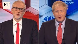 Boris Johnson v Jeremy Corbyn: who won final TV election debate?  | FT