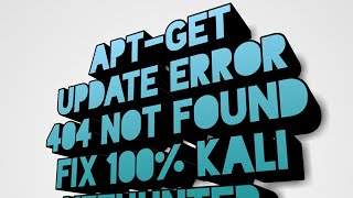 fix apt-get error in kali linux nethunter Hindi Urdu