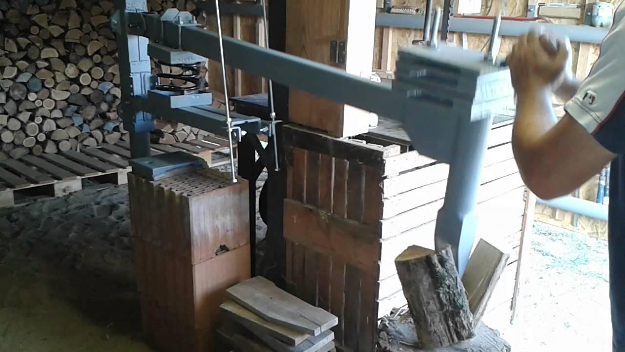 Fahas T M K D S K Zben Homemade Manual Wood Splitter