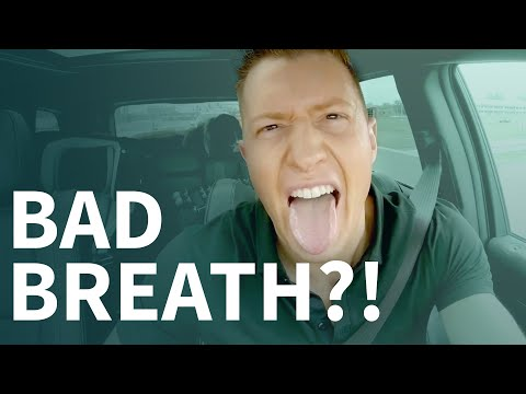 How to get rid of bad breath from broken tooth