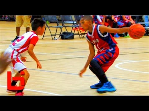 5th Grader Jaden Jones Has Ridiculous HANDLES & GAME For His Age!