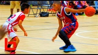 Repeat youtube video 5th Grader Jaden Jones Has Ridiculous HANDLES & GAME For His Age!