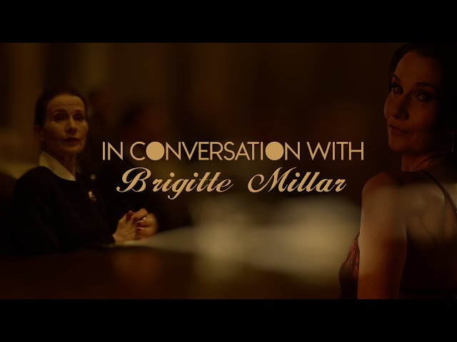 In Conversation with...Brigitte Millar