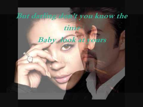 George Michael & Mutya Buena _This is not real love with lyrics