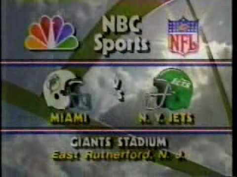 NBC Football Intro - September 1986
