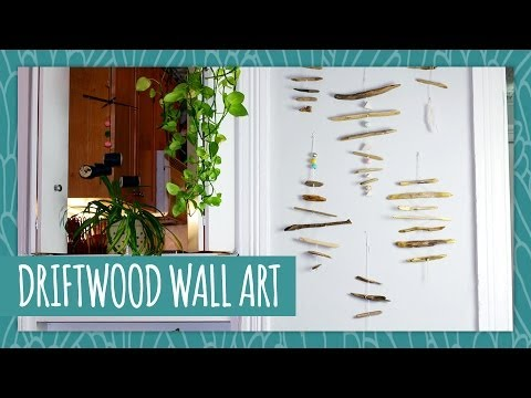 Driftwood Wall Art Hgtv Handmade Youtube