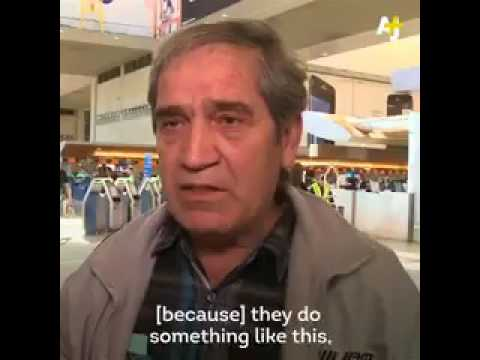 Iranian-American breaks down in Tears over deportation of brother after Trump's Muslim ban