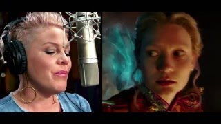 P!nk Featurette - Alice Through the Looking Glass in Theaters May 27!