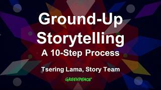 Webinar - Authentic Storytelling with Greenpeace - 2017-09-14