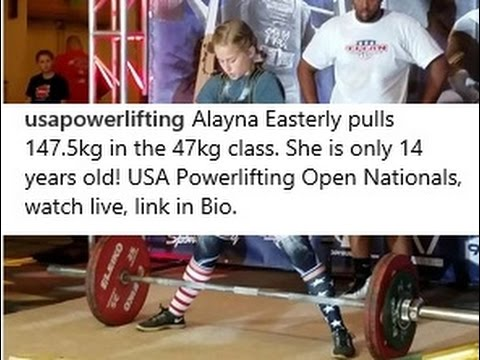 103 Lbs 14-Year-Old Girl Deadlifts 325 Lbs ... Strength Standards Revisited