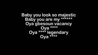 Davido   Aye  Lyrics   YouTube 360p