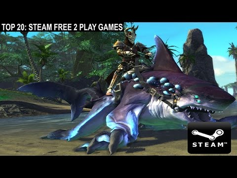 Top 20 Steam Free To Play Games PC