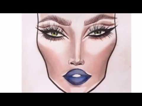 Beliebt MAC Face Chart - YouTube UT16