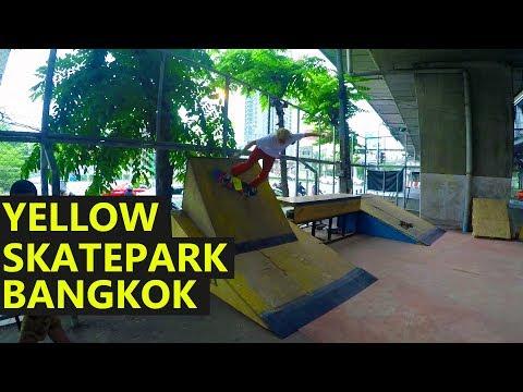 Yellow Skatepark | Bangkok Thailand