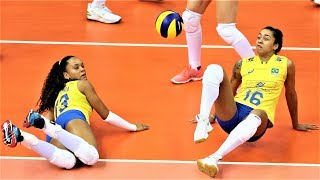 Best Women's Volleyball Actions | Volleyball Digs | Volleyball Saves | Rally | WGP 2017